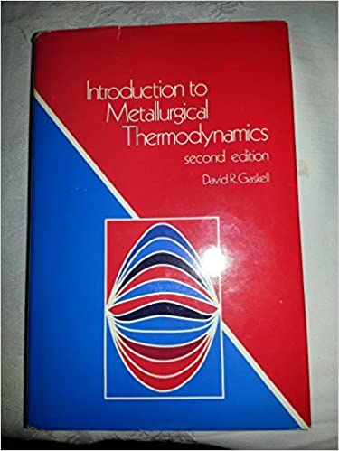 introduction to the thermodynamics of materials gaskell pdf