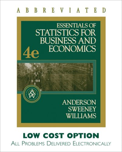 statistics for business and economics anderson sweeney williams pdf