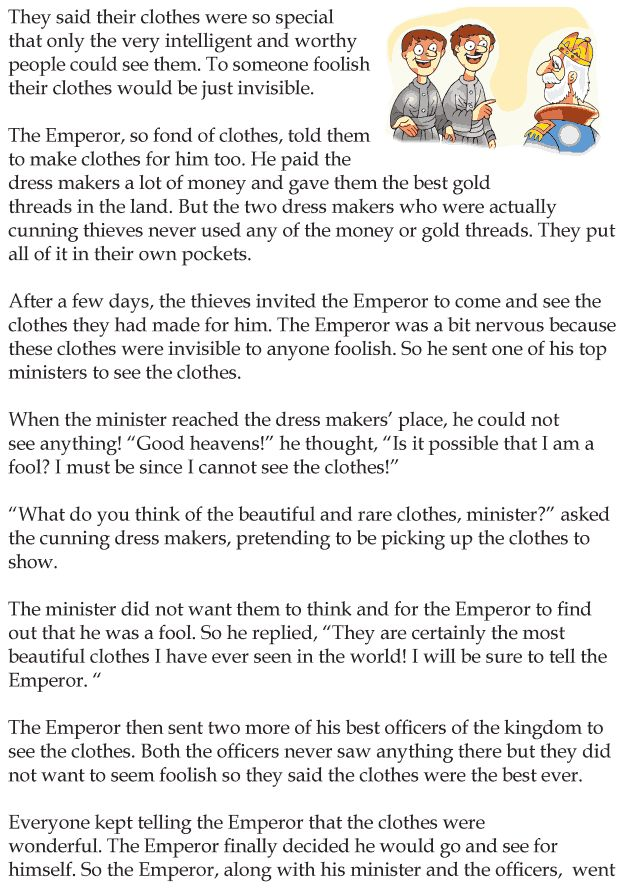 the emperor new clothes story pdf