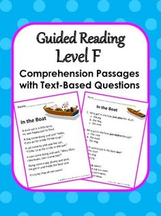 comprehension passages for grade 4 with questions and answers pdf