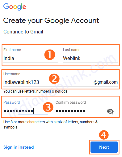 how to create an email id in gmail pdf